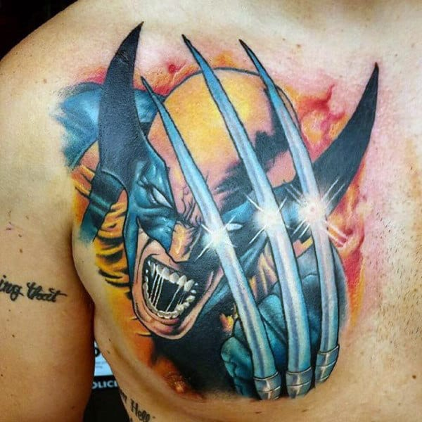 90 Wolverine Tattoo Designs For Men - X-Men Ink Ideas