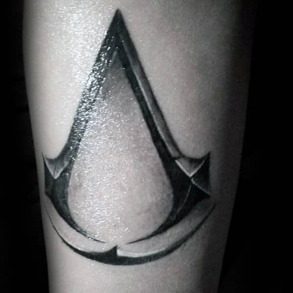 598e5532f34fb 60 Assassins Creed Tattoo Designs For Men - Video Game Ink Ideas