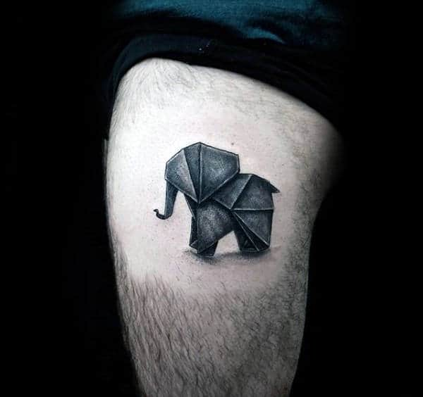 Pictures Of Origami Elephant Tattoo Kidskunst Info