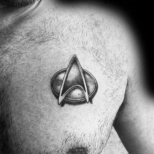 50 Star Trek Tattoo Designs For Men