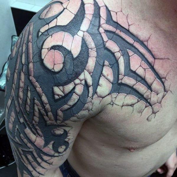 Arm tribal mann tattoo Tribal Arm