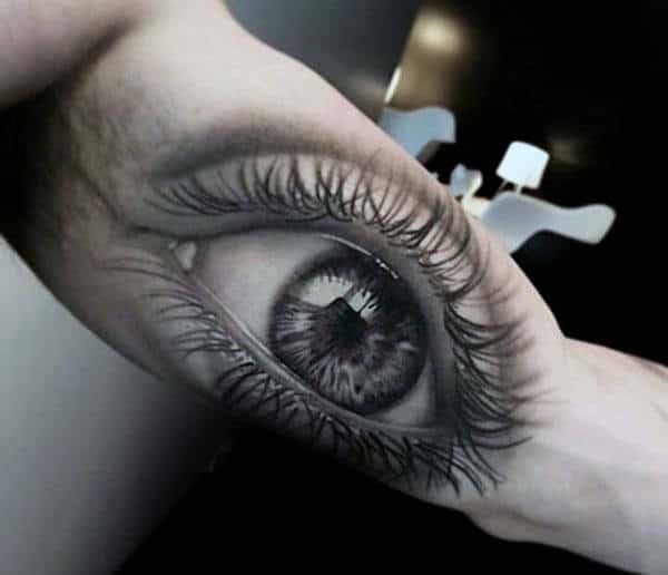 3D Tattoo Men's Bicep
