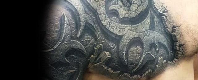 3d Tribal Tattoos For Men
