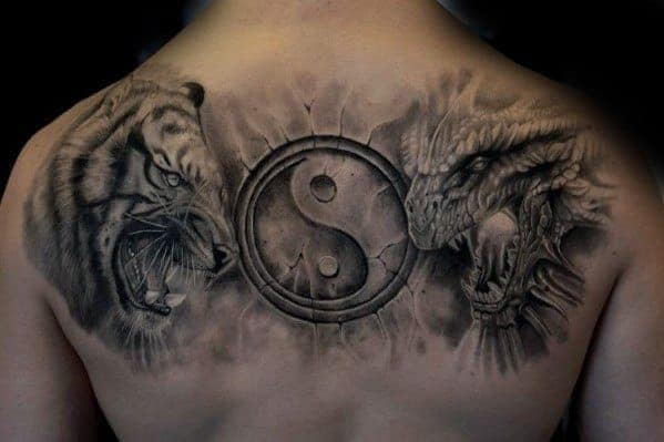 3d-yin-yang-symbol-tiger-dragon-tattoo-ideas-for-males
