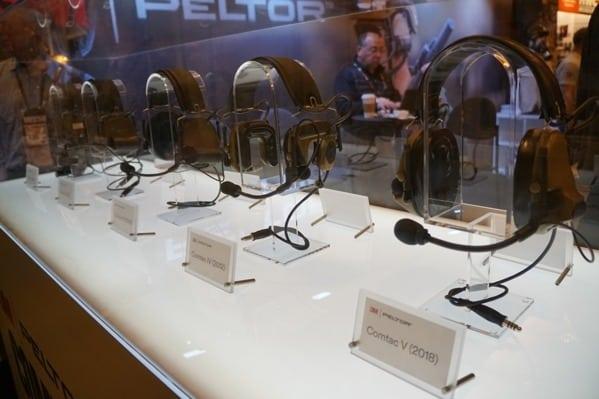 3m Peltor Headsets Shot Show 2018