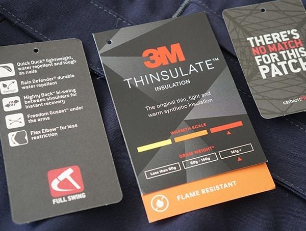 3m Thinsulate Mens Carhartt Work Jacket