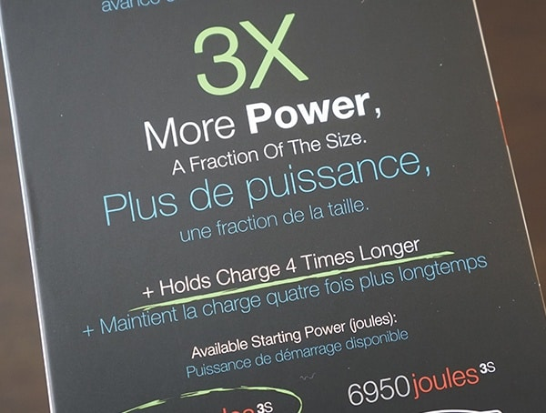 3x More Power 4 Times Longer Charge