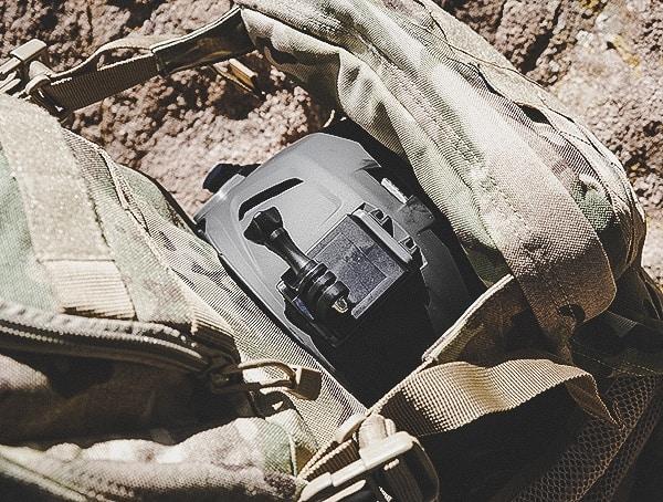 5 11 Rush72 Tactical Backpack Helmet Top View