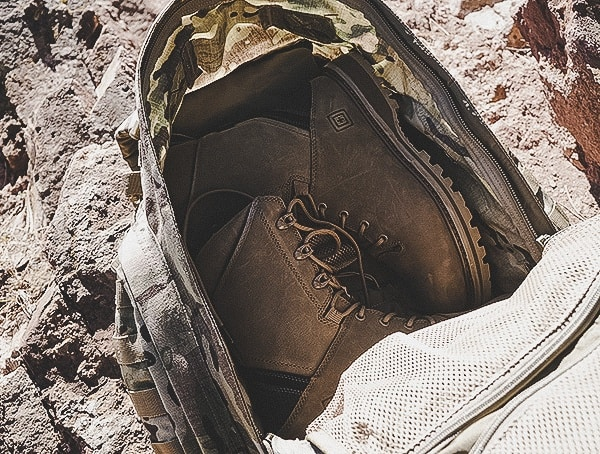 5 11 Rush72 Tactical Backpack Main Compartment Boot Storage
