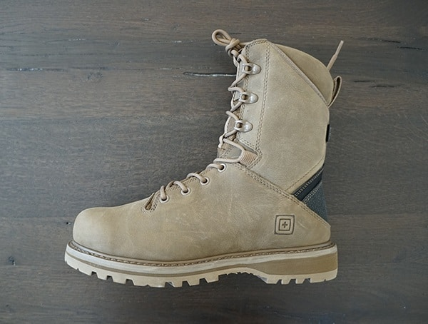 5 11 Tactical Apex 8 Inch Boots For Men Second Side