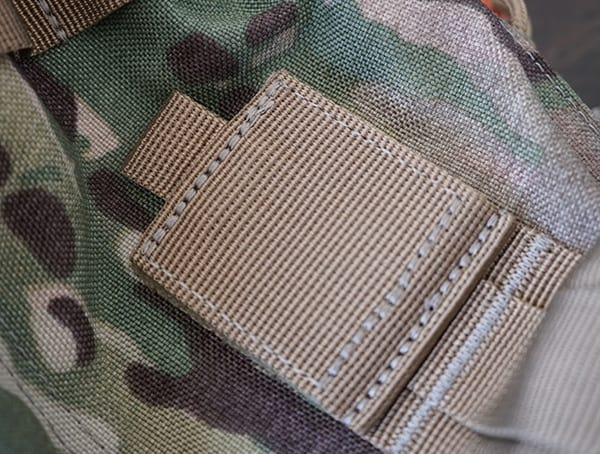 5 11 Tactical Rush72 Backpack Communication Port Velcro Closed