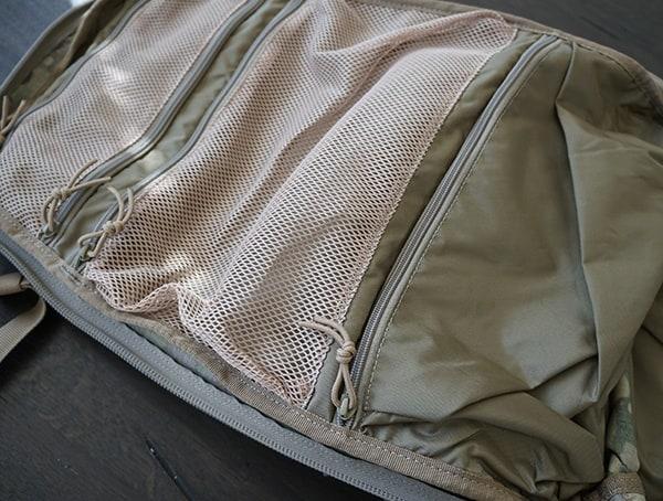 5 11 Tactical Rush72 Main Compartment Unzipped Top