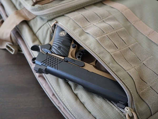 5 11 Tactical Vtac Mk 2 Rifle Case Side Pocket 1911 Firearm
