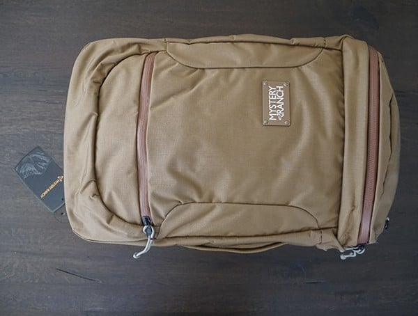 500d Cordura Coyote Mission Rover Travel Backpack