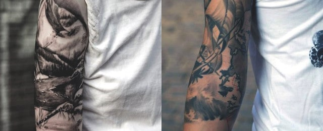 60 Half Sleeve Tattoos For Men