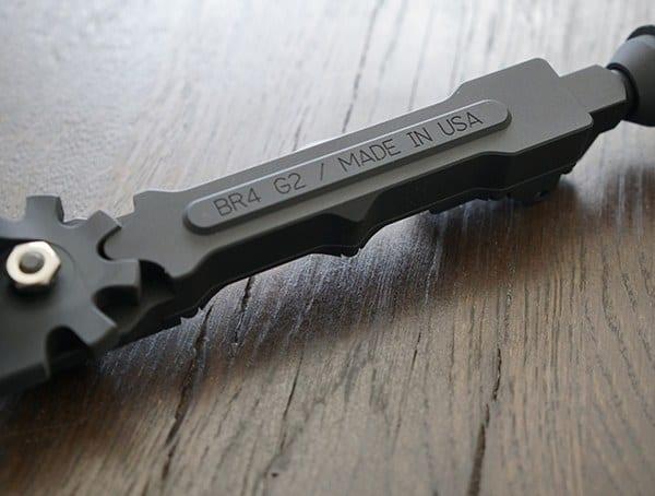 6061 T6 Aluminum Alloy Construction Accu Tac Br 4 G2 Bipod
