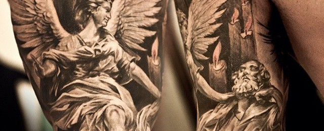 75 Angel Tattoos