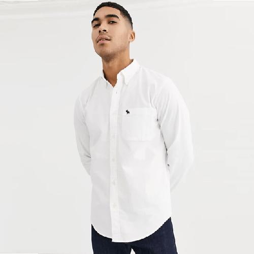 Abercrombie-Fitch-Icon-Logo-Oxford-Shirt