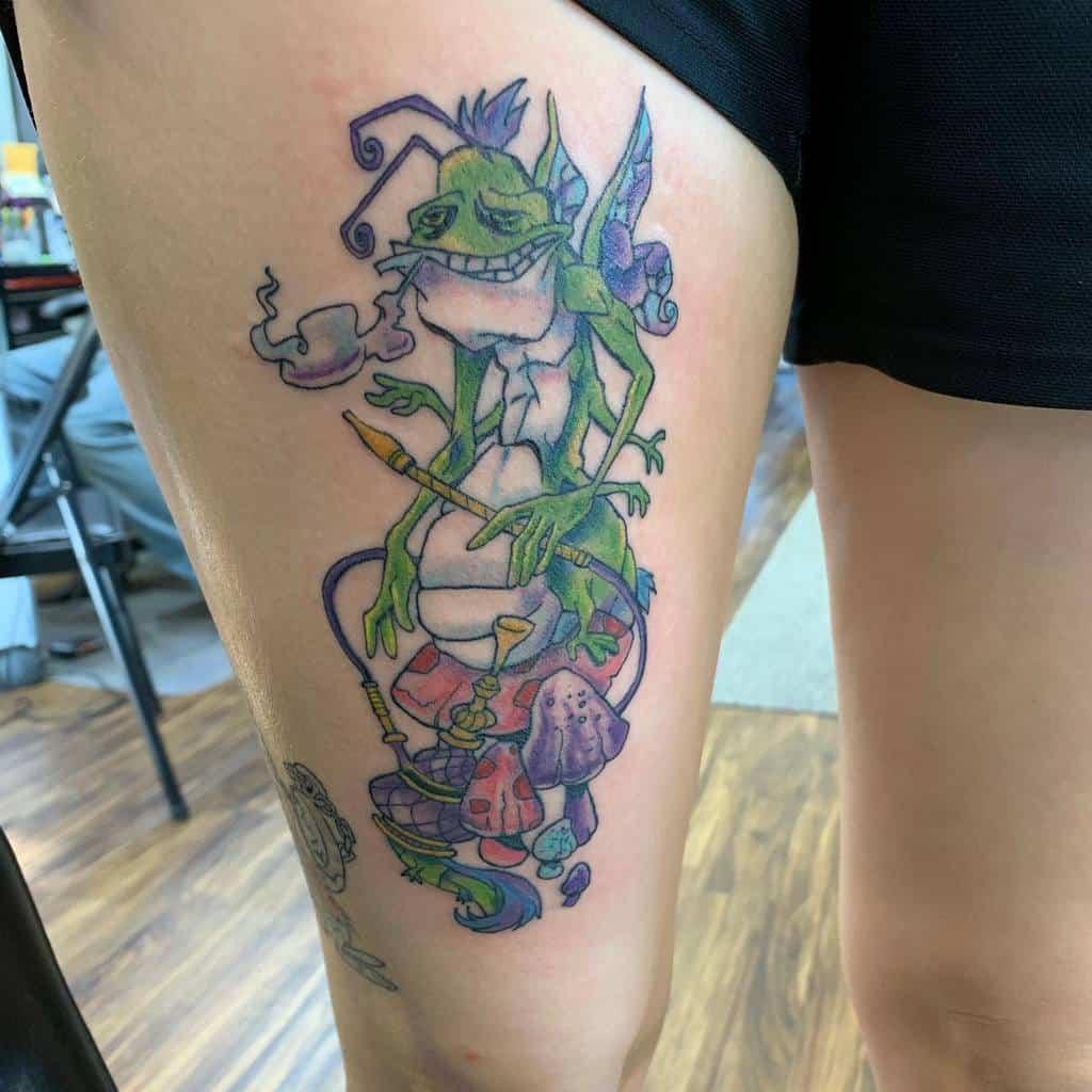 Absolem Tattoo Images Alice In Wonderland Michaelburnstattoos