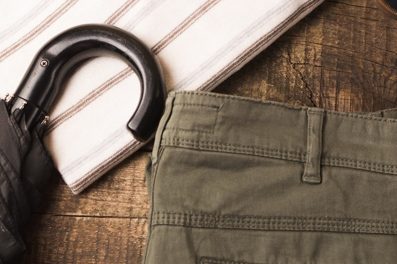 Accessories and Miscellaneous - Essentials Travel Checklist For Men