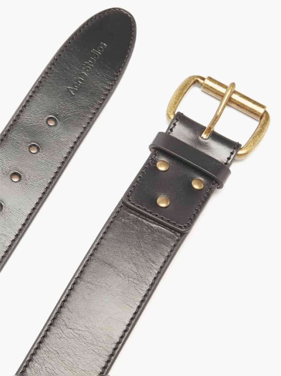 Acne Studios Atticus Leather Belt