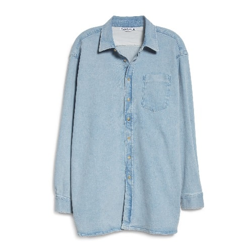 Acne Studios Chambray Button-Up Shirt