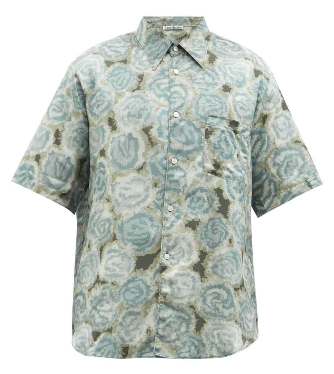 Acne Studios Sale Floral Print Shirt