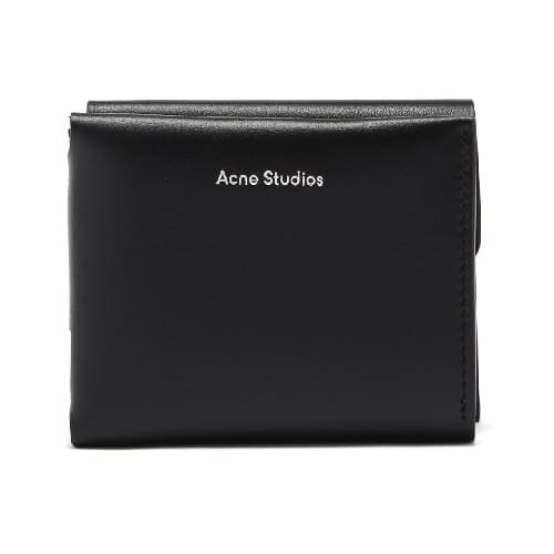 Acne Studios Trifold Leather Wallet