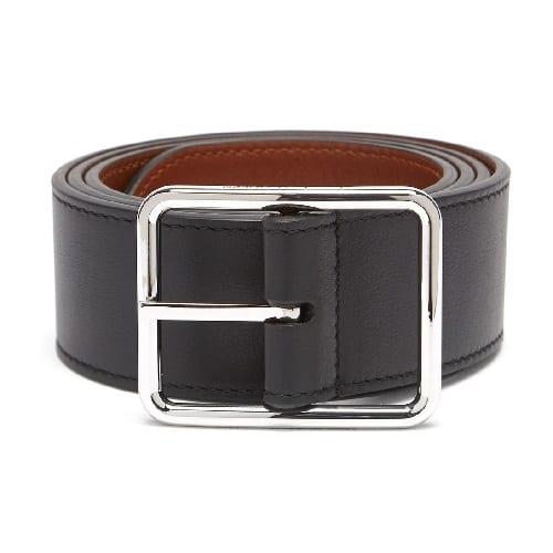 Alexander McQueen Reversible Leather Belt