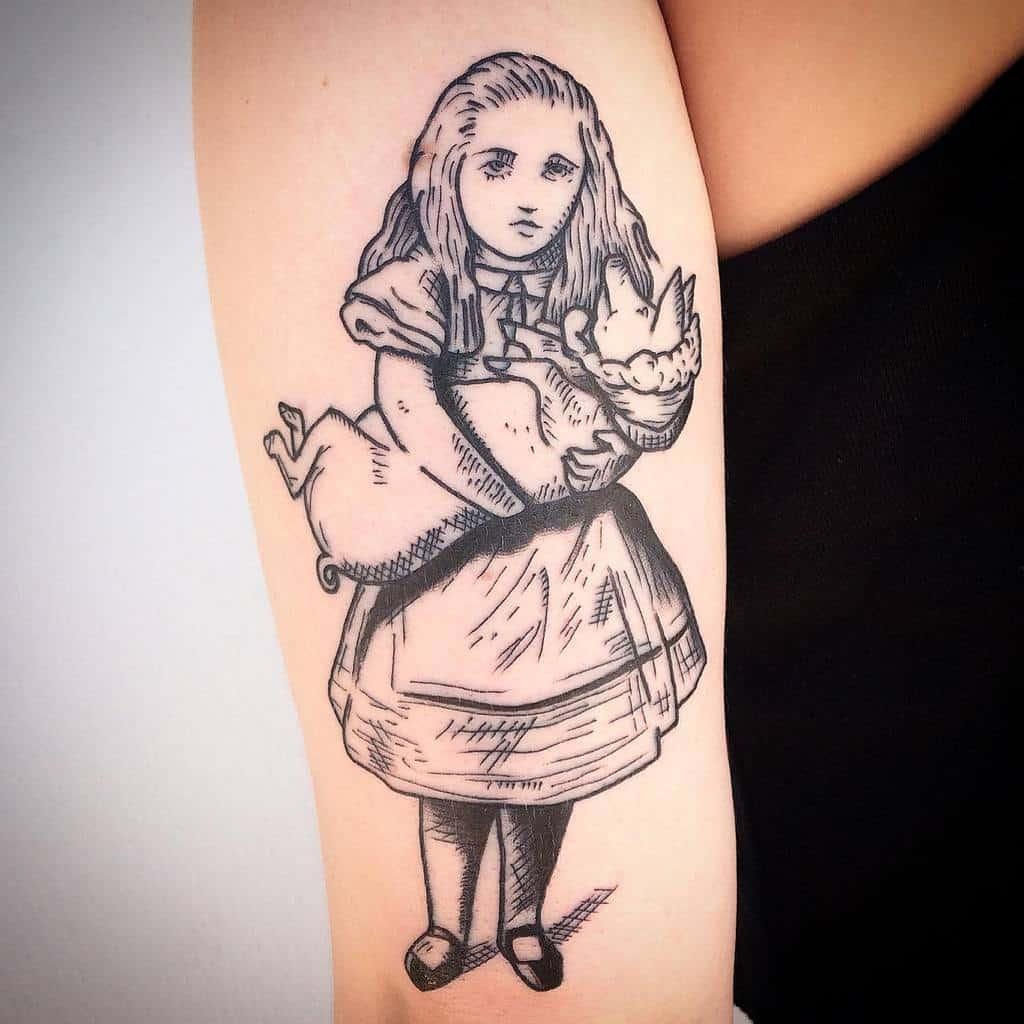 Alice Images Alice In Wonderland Tattoosbyharry