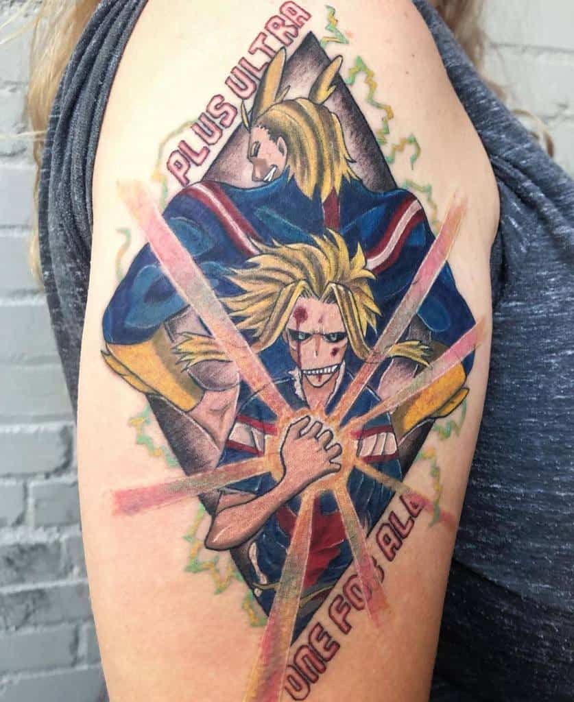 Top 69 Best My Hero Academia Tattoo Ideas – [2020 Inspiration Guide]