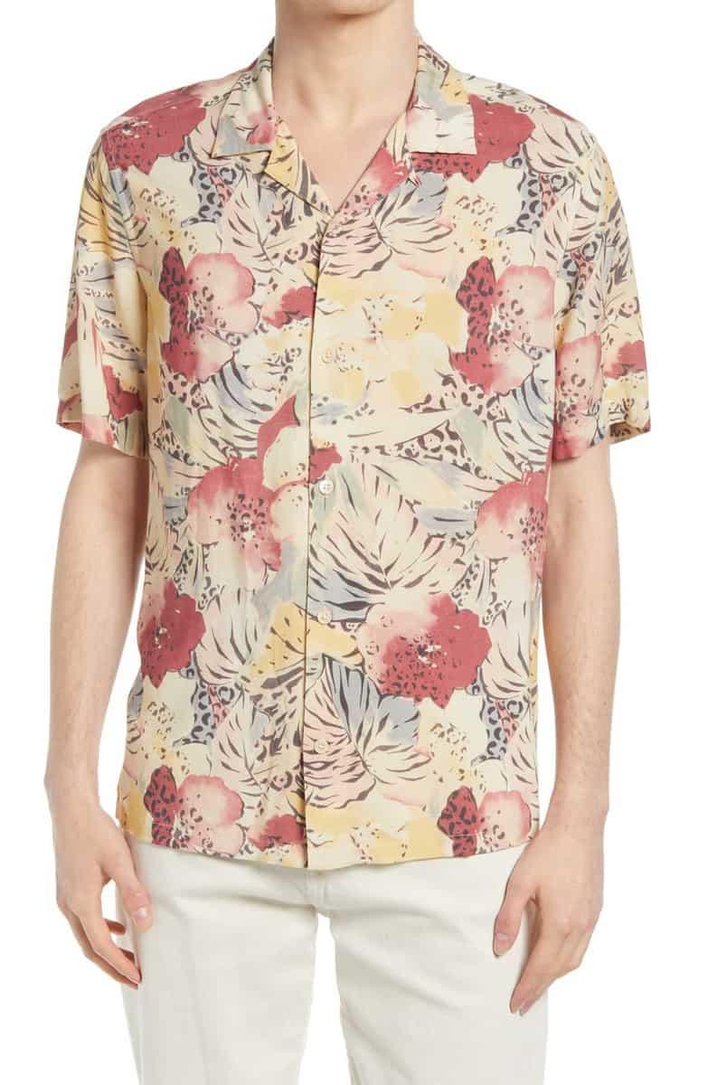 All Saints Wailea Floral Shirt