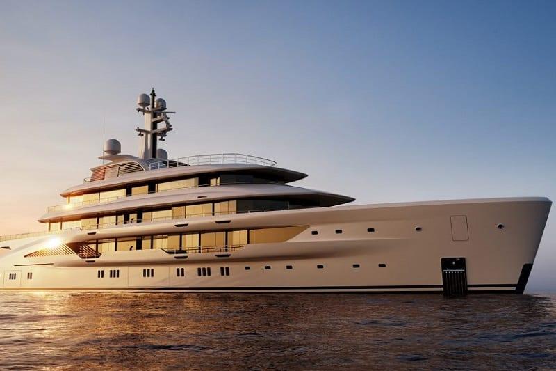 Amels Luxury Yacht