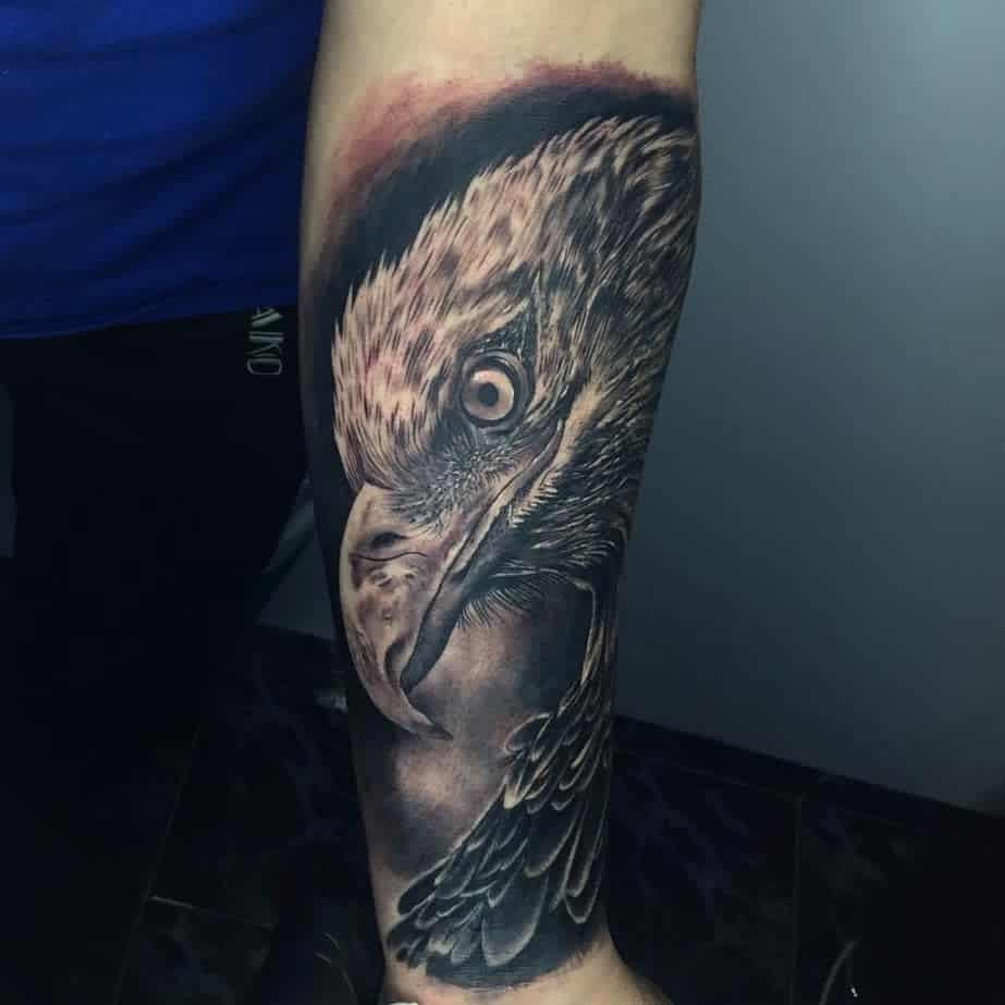 American Eagle Head Tattoo tattoomartzyanu