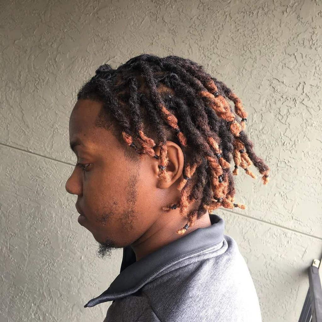 An Adventurous Funky Braids With A Dye