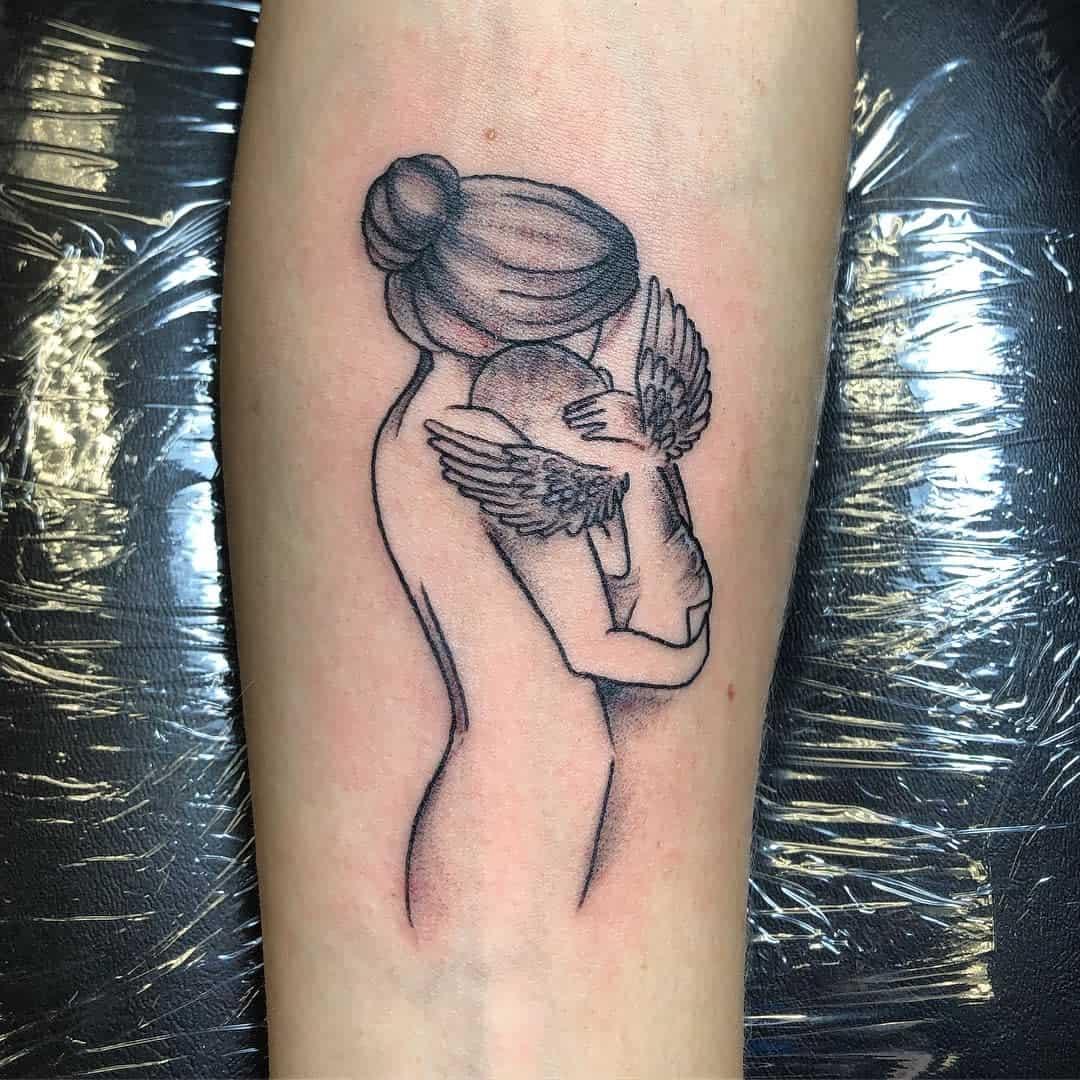 Angel Baby Miscarriage Tattoos -hagstonetattoo