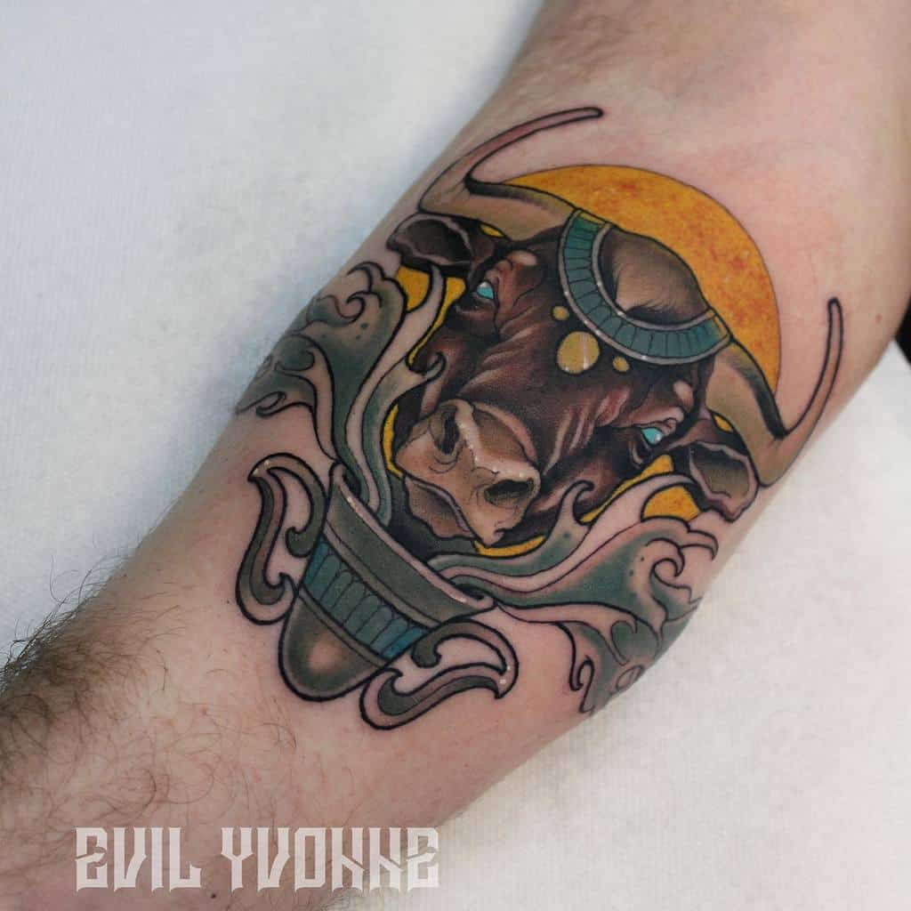 Animal Art Nouveau Tattoo Evil.yvonne