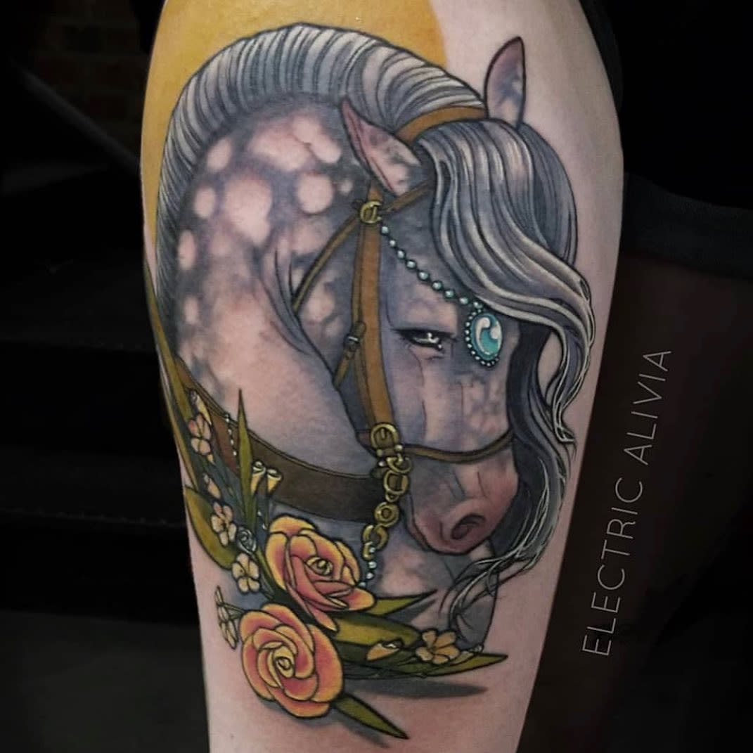 Animal Art Nouveau Tattoo Nrrdcakke