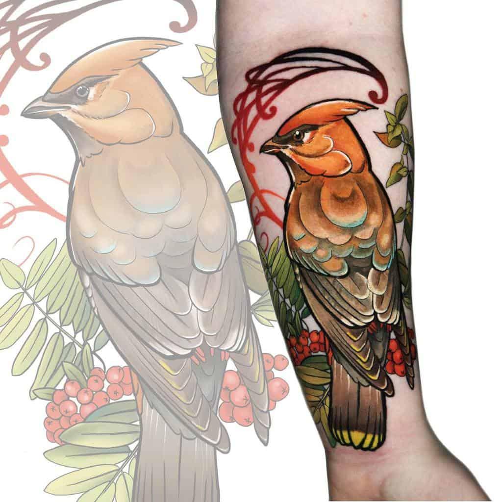 Animal Art Nouveau Tattoo Tattoo.aemgie