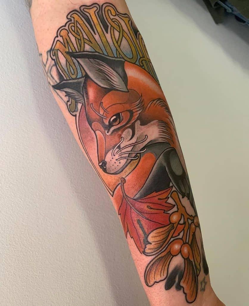 Animal Art Nouveau Tattoo Tonyfirstbrooktattoo