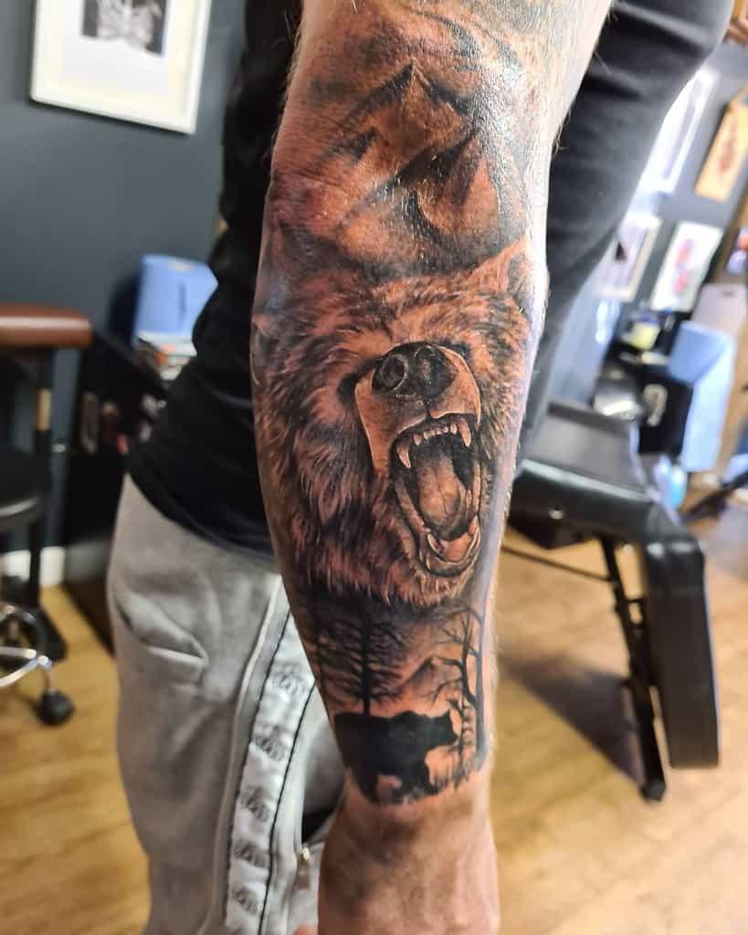 Animals Forest Sleeve Tattoos jessiecat23