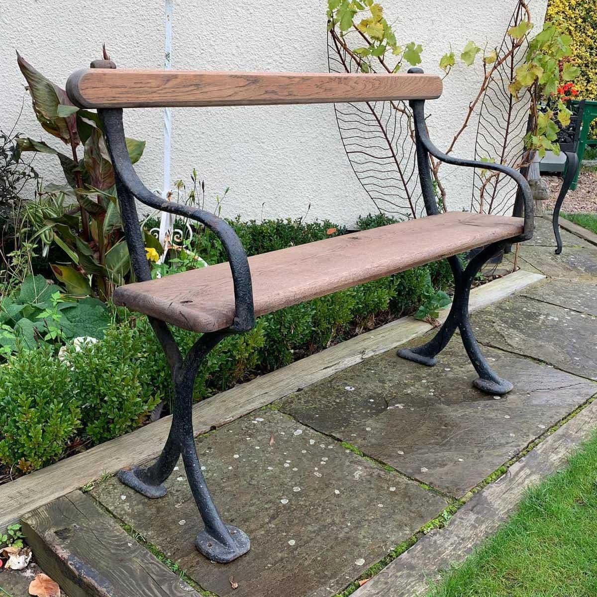 Antique Garden Bench Ideas -geoffdavidsonantiques