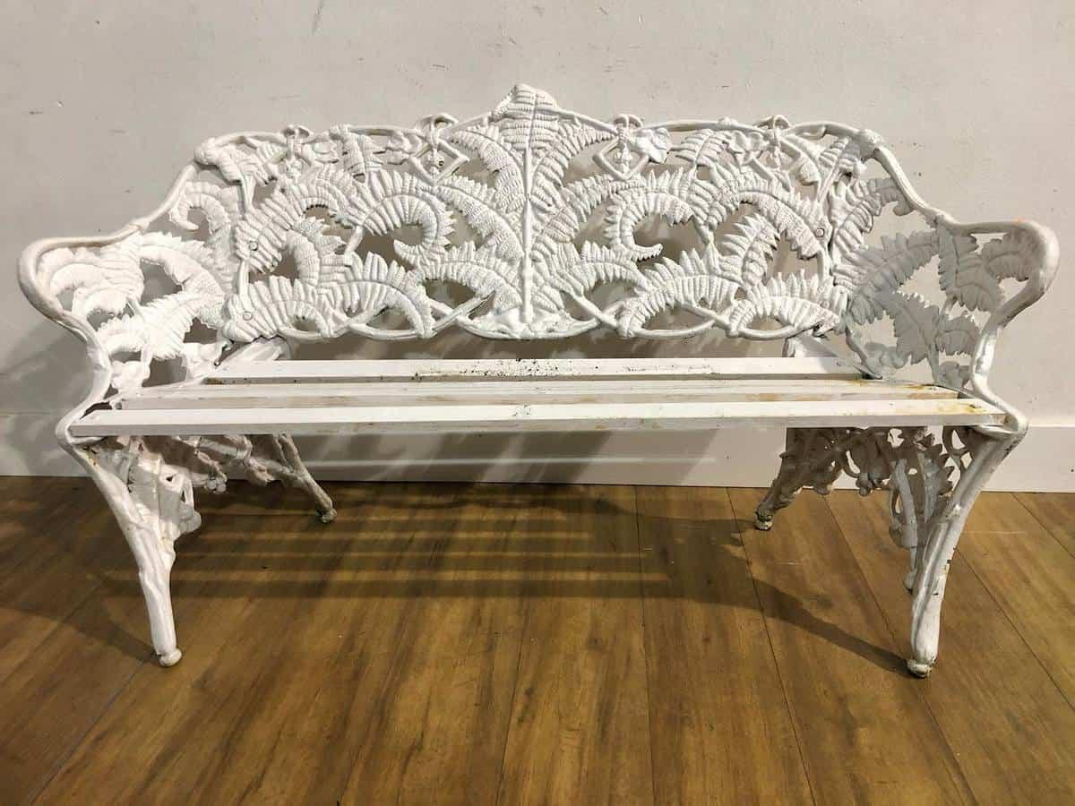Antique Garden Bench Ideas -lagansideauctions