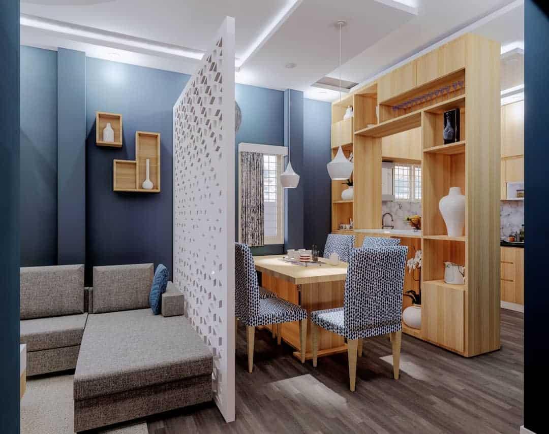 Apartment Temporary Wall Ideas -studio_aplusd