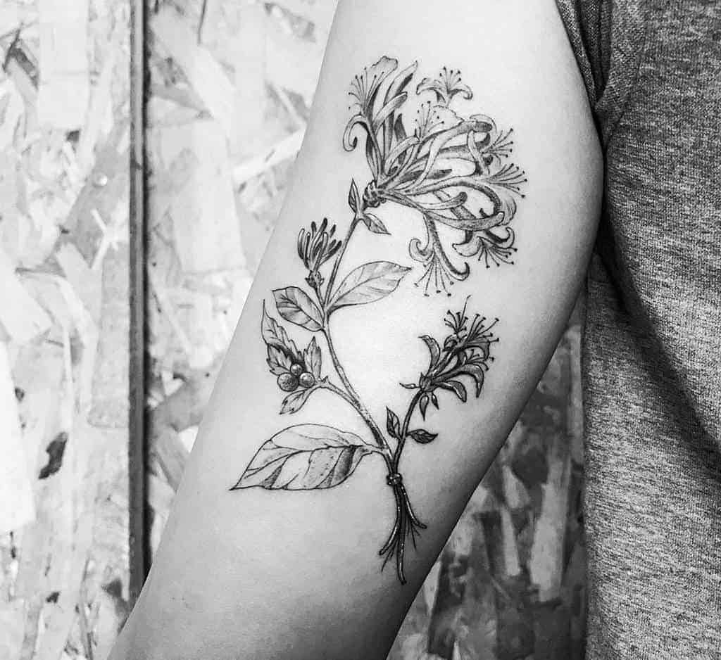 Arm-honeysuckle-tattoos-maxruvmelbourne