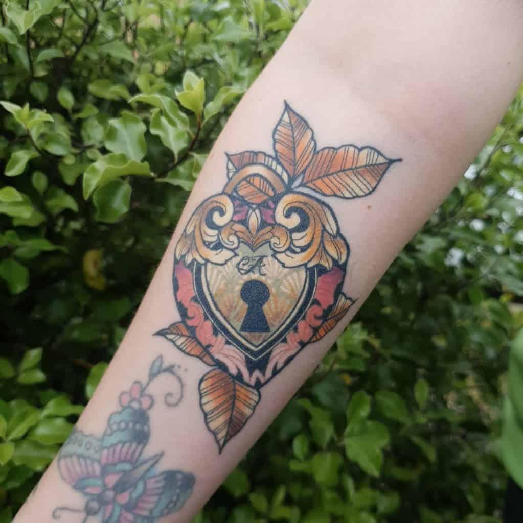 Art Nouveau Arm Sleeve Tattoo Sarahameliatattoos