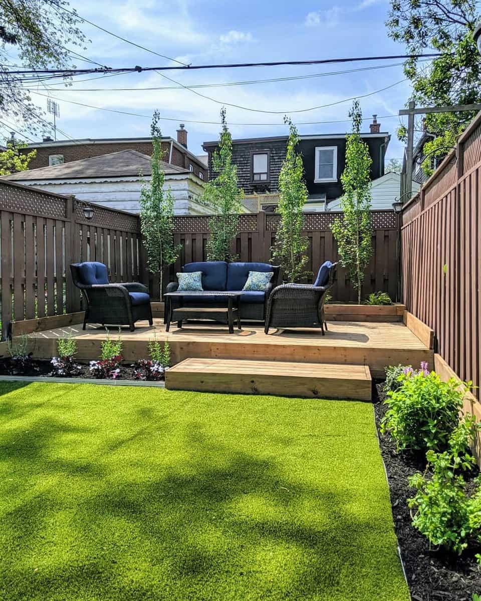 Artificial Turf Grass Free Yard Ideas -earthandsole