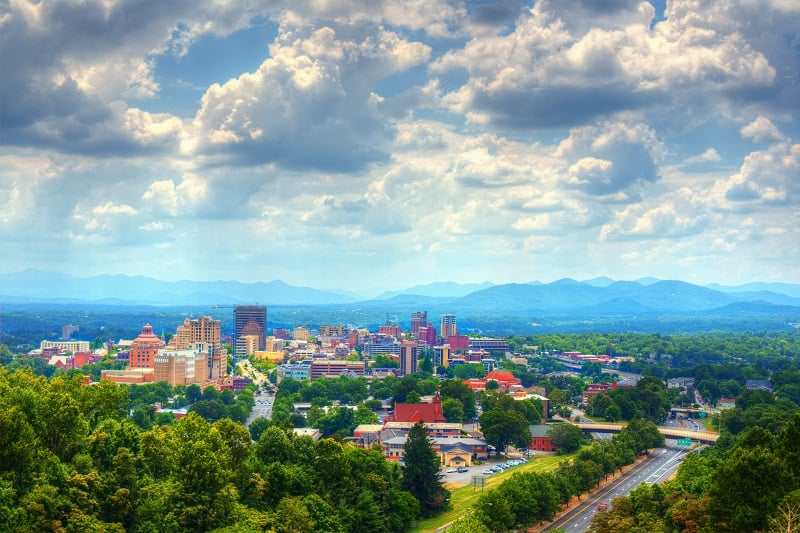 Asheville-North-Carolina-Best-American-Summer-Break-Destinations