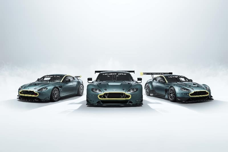 Aston Martin Unveils Three New Cars for the Vantage Legacy Collection