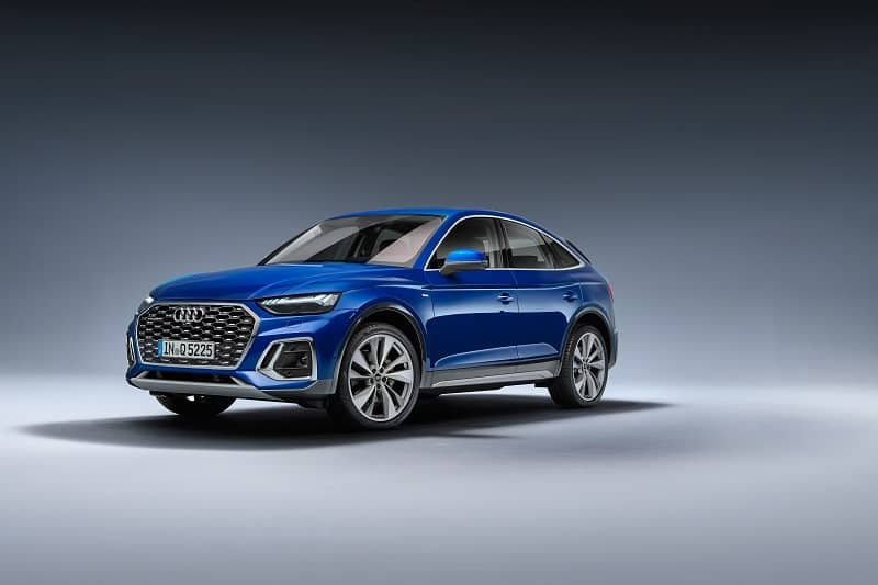 Audi Q5 Sportback with OLED Tech
